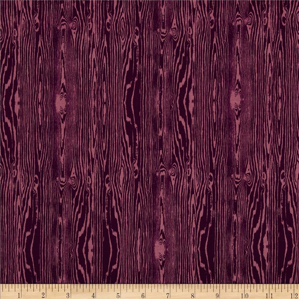 Joel Dewberry True Colors Wood Grain Violet