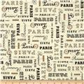 Paris Panache Words Cream