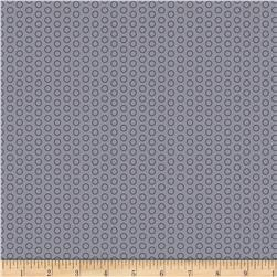 Riley Blake Speedster Sporty Dots Grey Fabric