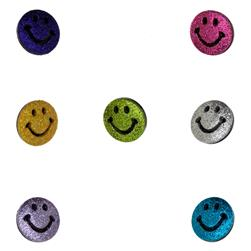 Dress It Up Embellishment Buttons  Psychedelic Smileys