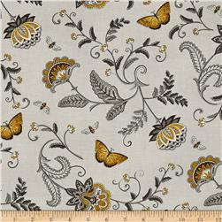 Moda Bee Inspired Nature's Floral Dove Grey
