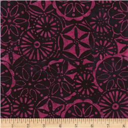 Timeless Treasures Tonga Batik L'amour Petal Patchwork Flirt