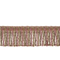 "Fabricut 2.5"" Porch Swing Bullion Fringe Light Amethyst"