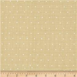 Moda Bayberry Chambray Dots Stone