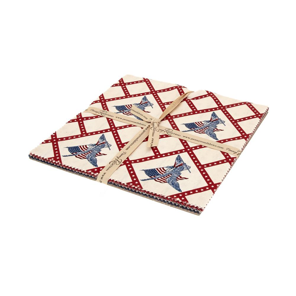 Penny Rose Americana 10 In. Layer Cake Multi