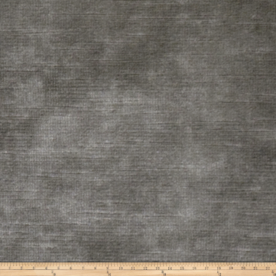 Image of Fabricut Bellagio Velvet Steel