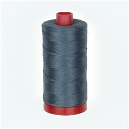 Aurifil 12wt Embellishment and Sashiko Dreams Thread Medium Grey
