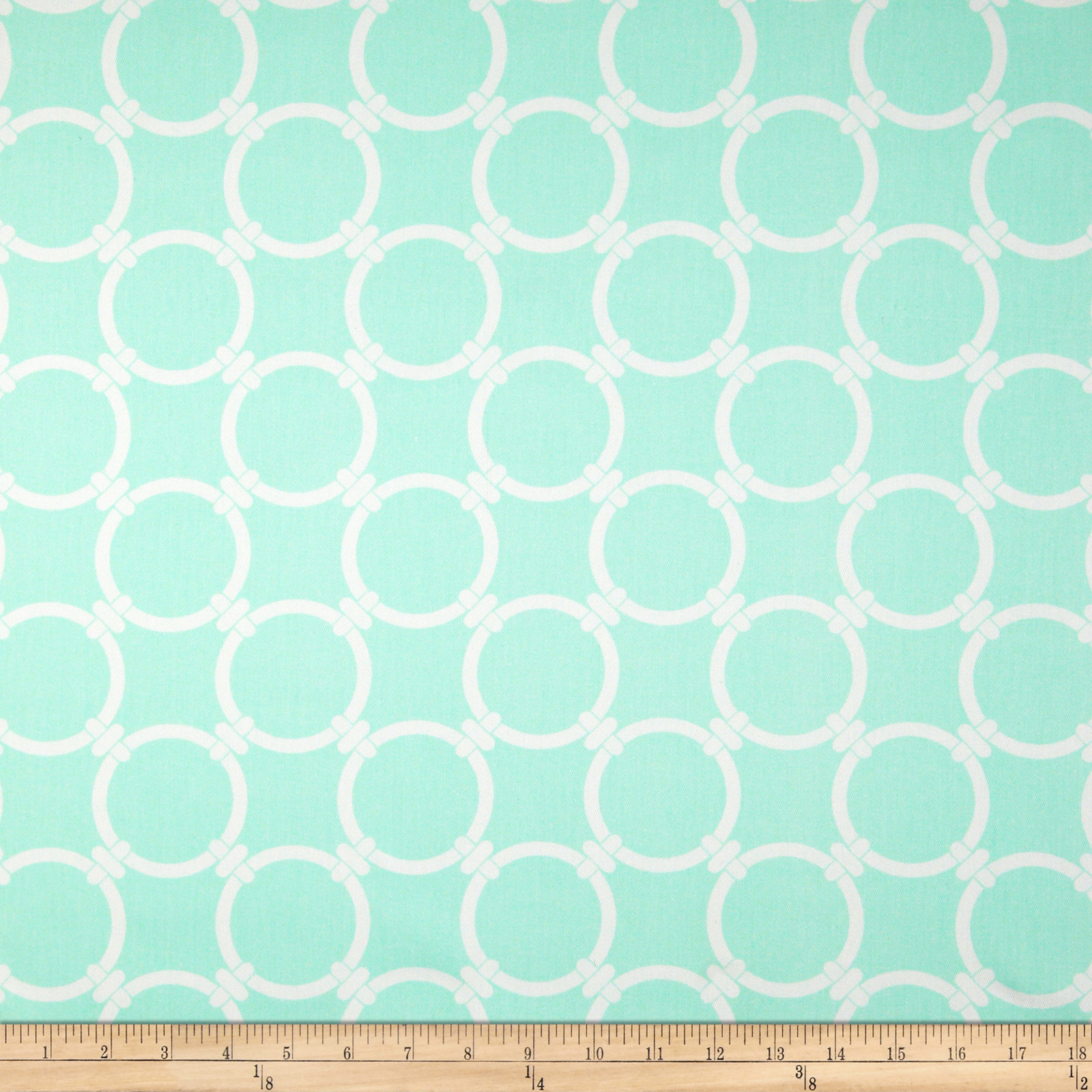 Premier Prints Linked Twill Mint