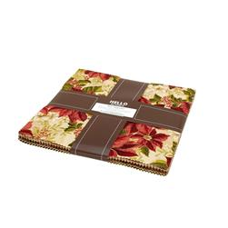 Robert Kaufman Holiday Flourish Country 10 In. Layer Cake Multi