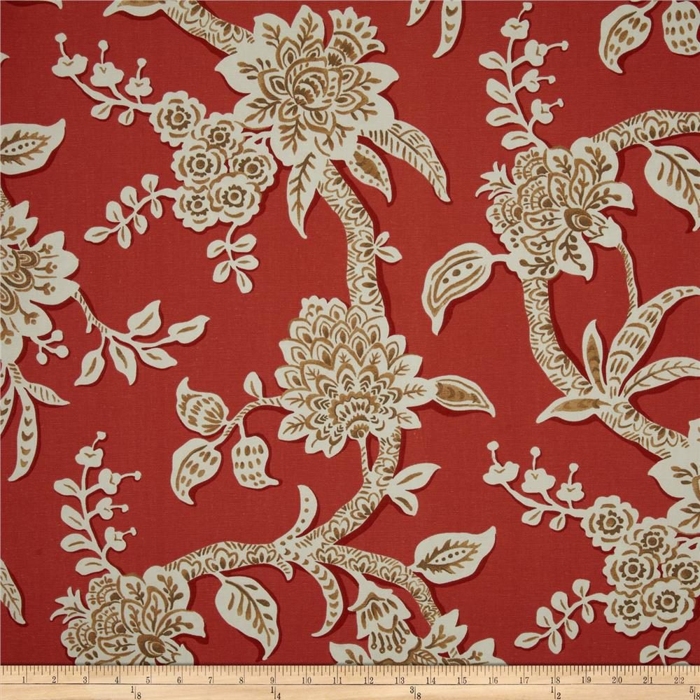 Magnolia Home Fashions Brookhaven Floral Poppy