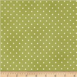 Home Essentials Dots Sage/Cream