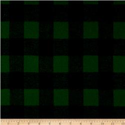 Primo Plaids Classics Flannel Buffalo Check Green