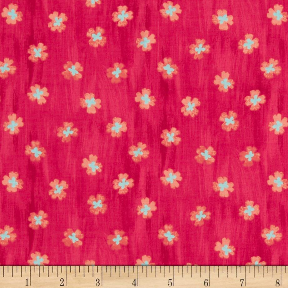 Tilly Daisy Meadow Red