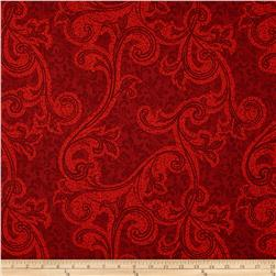 Blessings III Small Large Damask Red