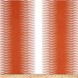 Dwell Studio Gita Stripe Persimmon
