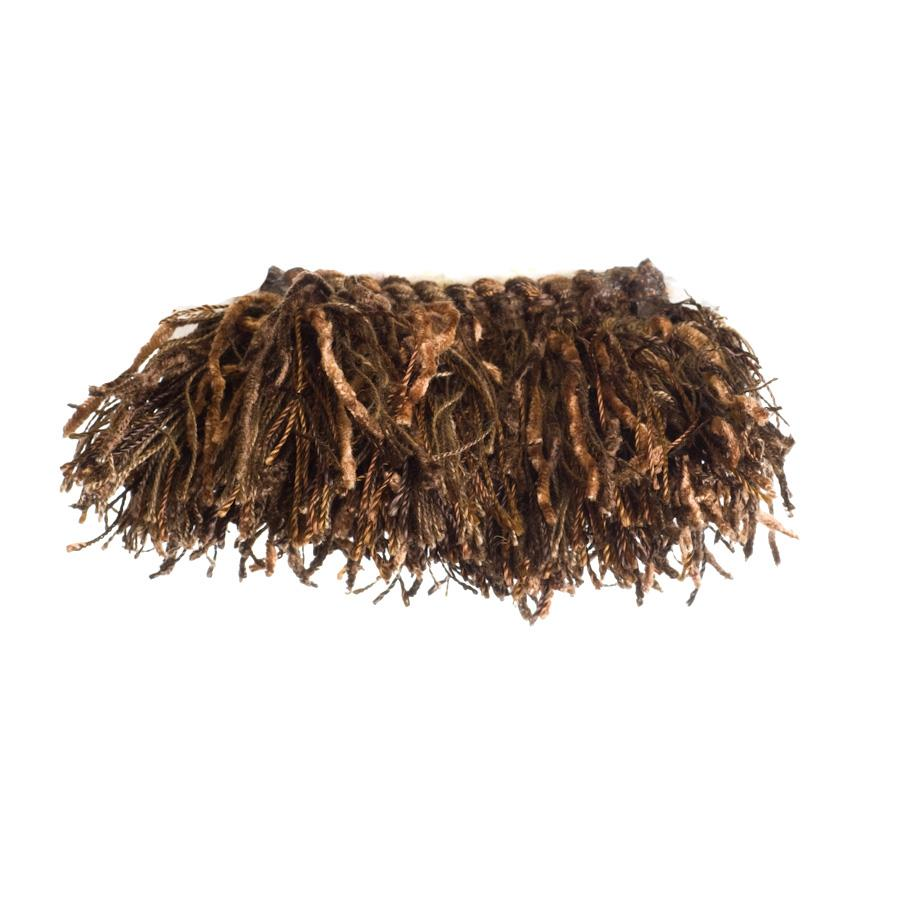 "Trend 2.25"" 01464 Brush Fringe Fudge"