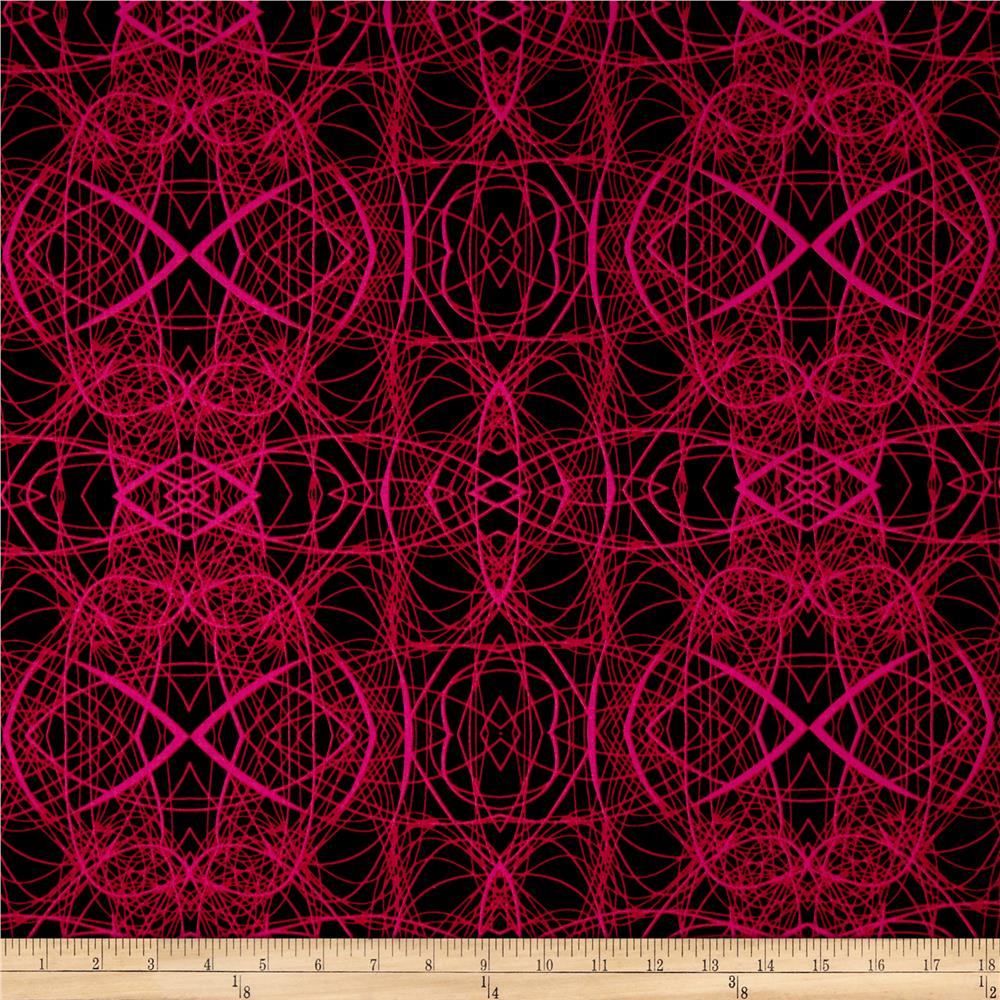 Patternista Scribble Hot Pink