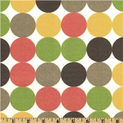 Dwell Studio Indoor/Outdoor Dotscene Spring Fabric