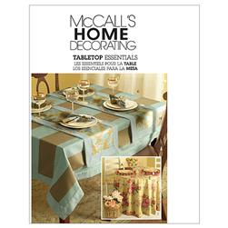 McCall's Tabletop Essentials Pattern M5439 Size OSZ