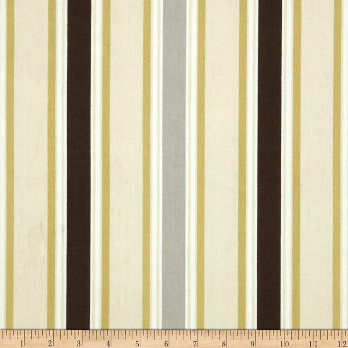Premier Prints Morgan Stripe Twill River Rock