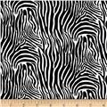 Timeless Treasures Safari Zebra Skin Zebra