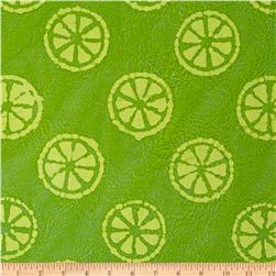 Indian Batik Lemondrop Lime