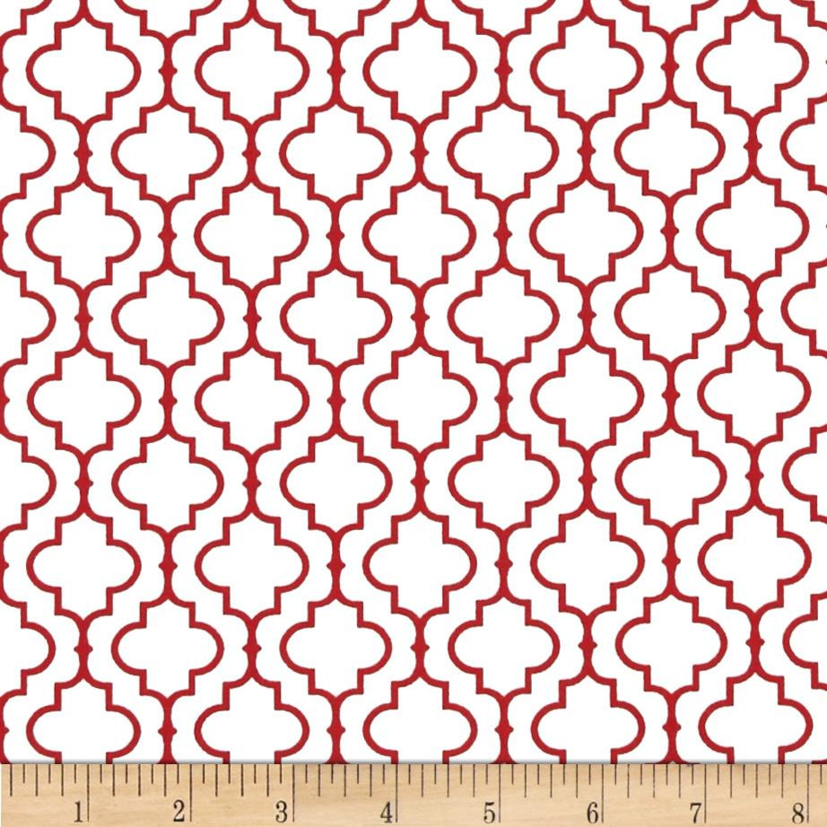 Kaufman Metro 108 In. Wide Back Tile Red