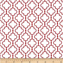 Robert Kaufman Metro 108 In. Wide Back Tile Red
