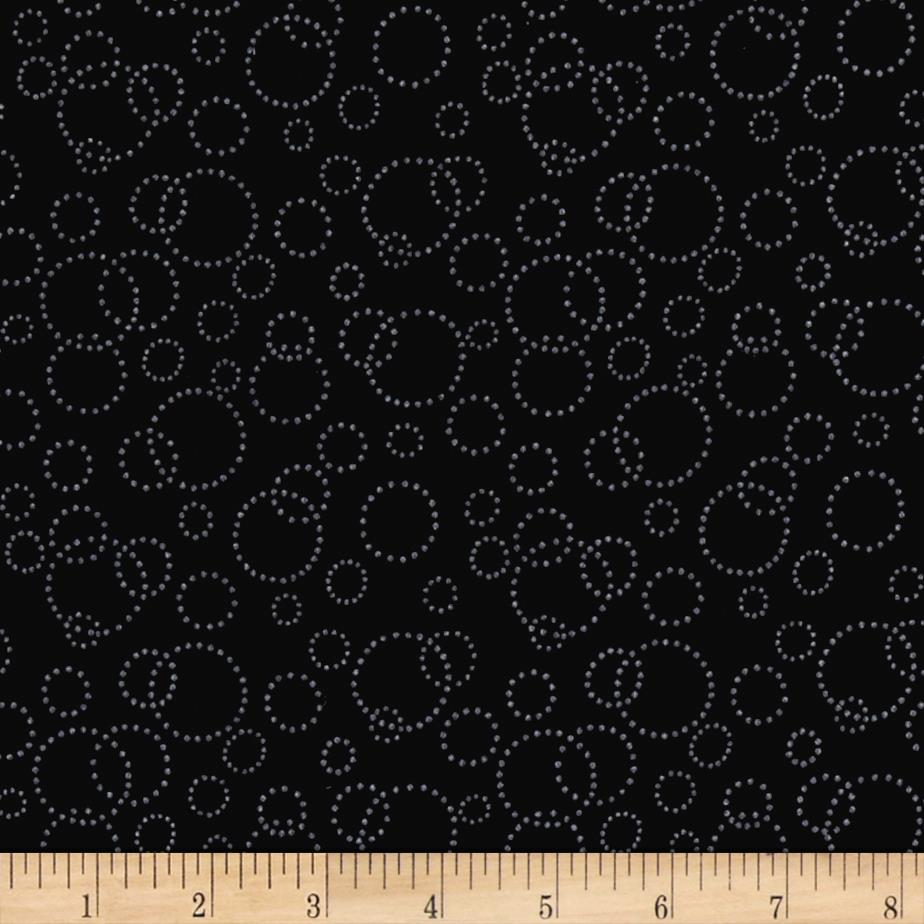 "110"" Wide Quilt Back Champagne Black"