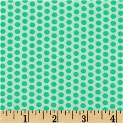 Moda Into the Woods Sweet Dots Mint Fabric
