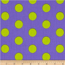 Let's Play Dolls Large Dot Purple