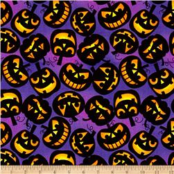 Halloween l Jacko'laterns Purple