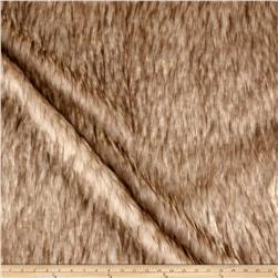 Michael Miller Platinum Fox Faux Fur Snow