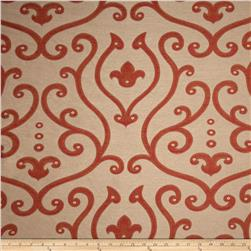 Abbey Damask Jacquard Rust