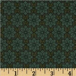 The Color Collection Daisy Plaid Green Fabric