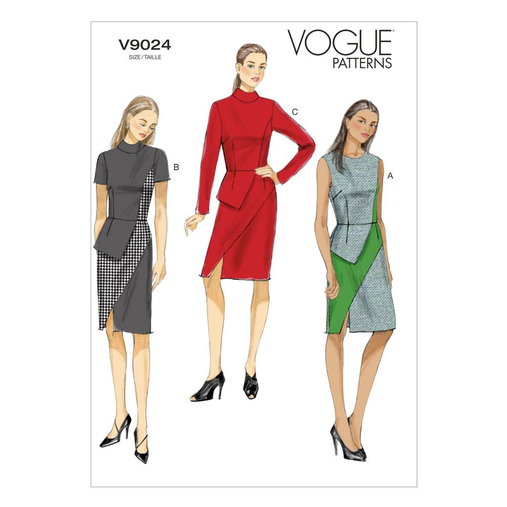 Vogue Misses' Dress Pattern V9024 Size A50