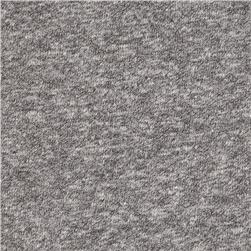 Designer Brushed Rayon Blend Jersey Knit Smoke Grey