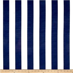 Richloom Solarium Outdoor Classic Stripe Navy