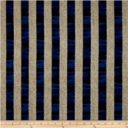Oh My Stars Weathered Channel Stripe Linen/Navy