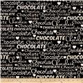 Chocoholic Chocolate Words Brown