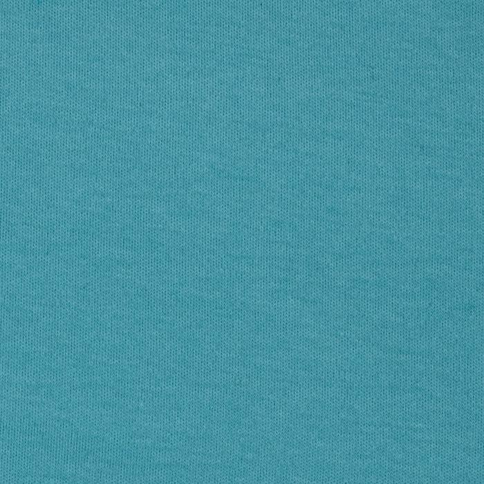 Organic Cotton Interlock Knit Turquoise