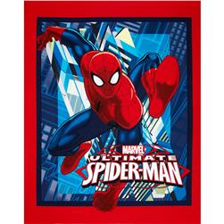 Marvel Comics Spiderman Ultimate Spider-Man Panel Red