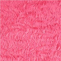 Minky Bella Snuggle Hot Pink
