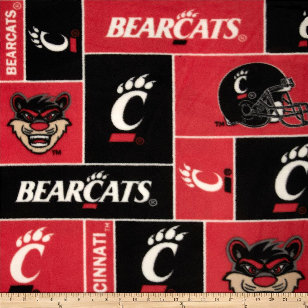 Collegiate Fleece University of Cincinnati Red