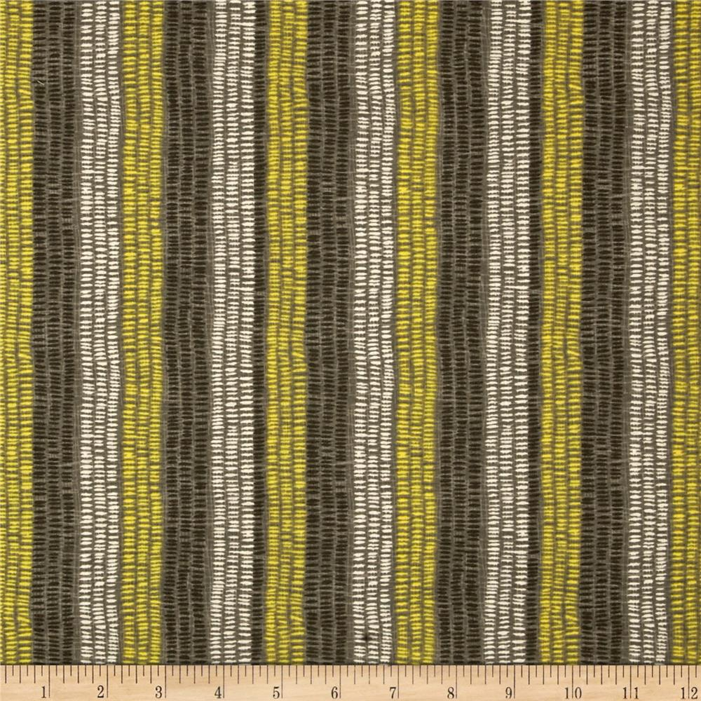 Market Road Broken Stripe Taupe/Multi