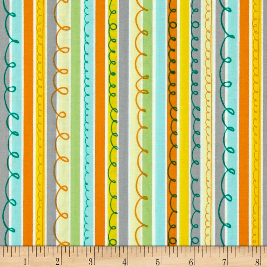 Animal ABC's Stripe Yellow