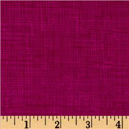 Timeless Treasures Sketch Flannel Berry