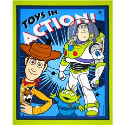 Disney Buzz Lightyear, Woody & Friends Panel Blue