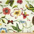 Duralee Home Flora Imperialis Ivory/Multi