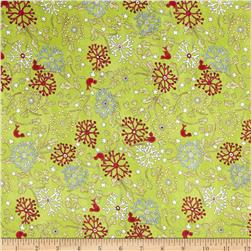 Glory Garden Medium Floral Green